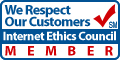 internet ethics council banner